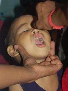 Polio-Impfung im YMCA