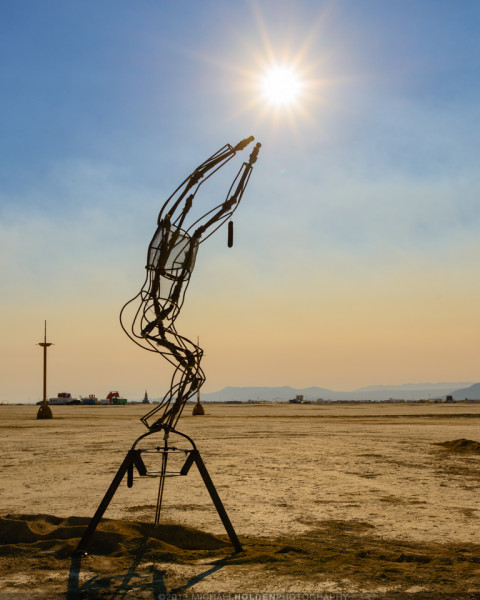 Burning Man Art Preview: Reach for the Sun