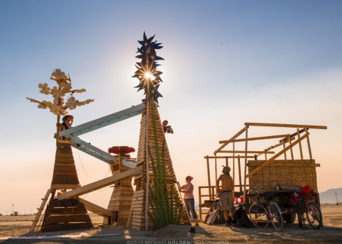 Burning Man Art Preview: Victoria CoRE