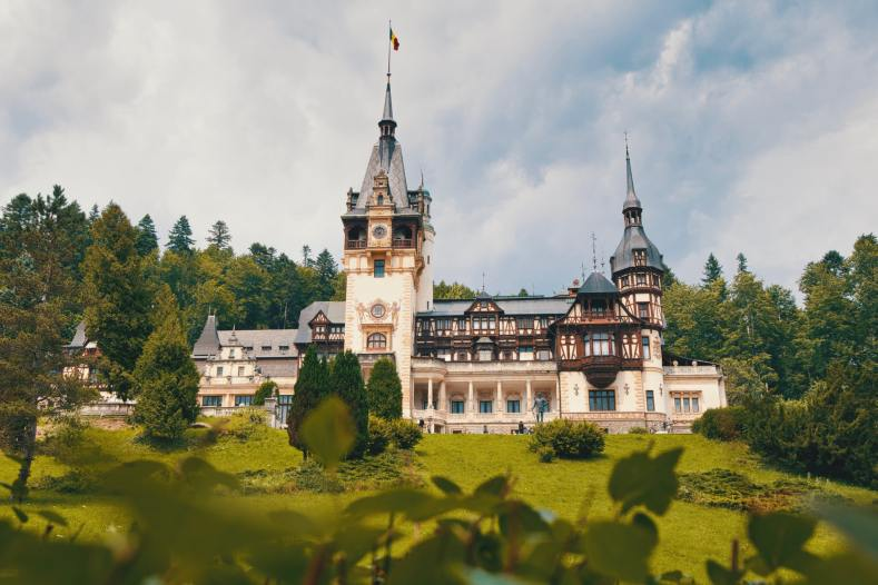 Most beautiful castle in Europe Peles Castle in Romania