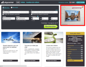 Exemple Skyscanner