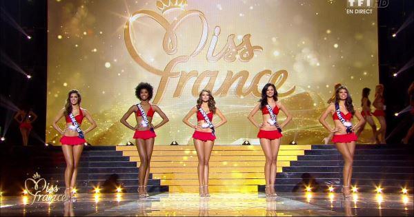 Top 5 des Miss France 2016 – Crédit @TF1