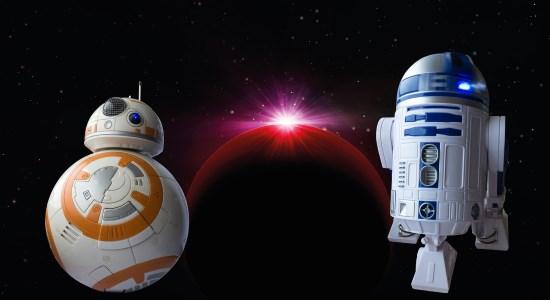 Star Wars : R2-D2 et BB-8