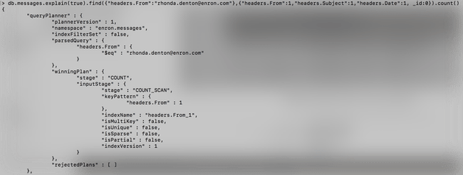[Tutoriel] MongoDB : Indexation et performance - enron-explain-query-index12
