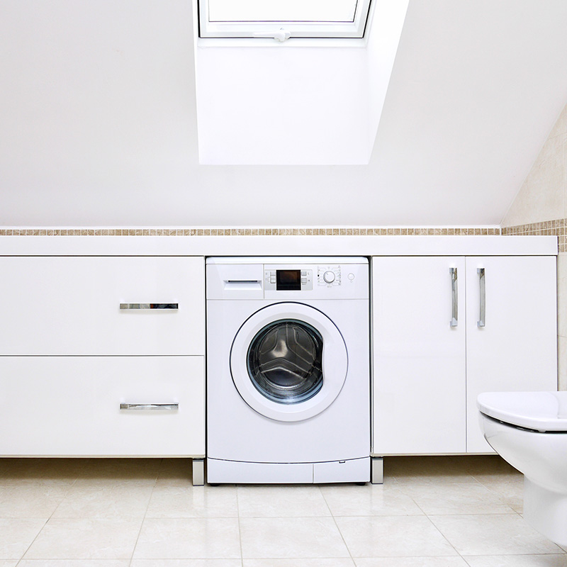 Lave Linge Gain De Place L Allie Des Petites Surfaces Blog But
