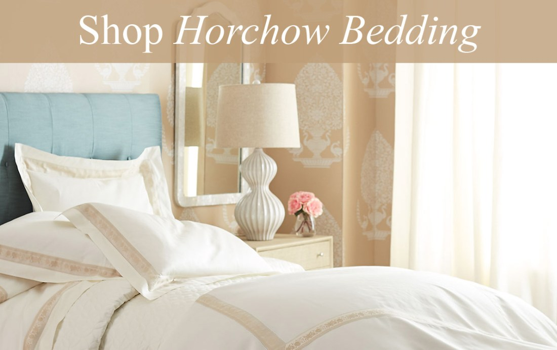 Shop Horchow Bedding