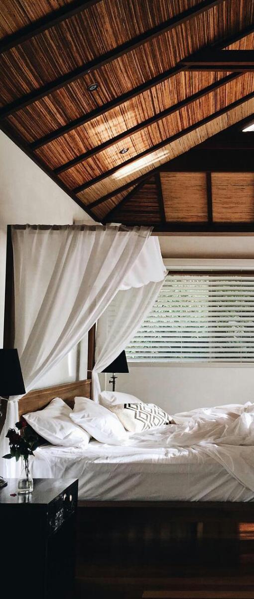 Stunning Rustic Bedroom