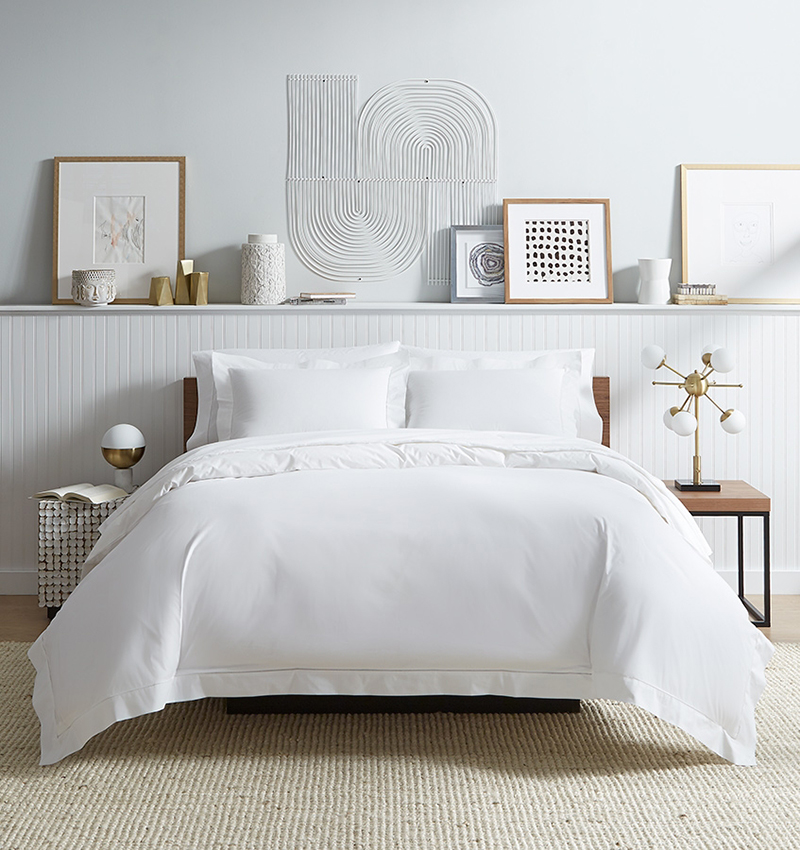 Sferra Analisa White Luxury Bedding