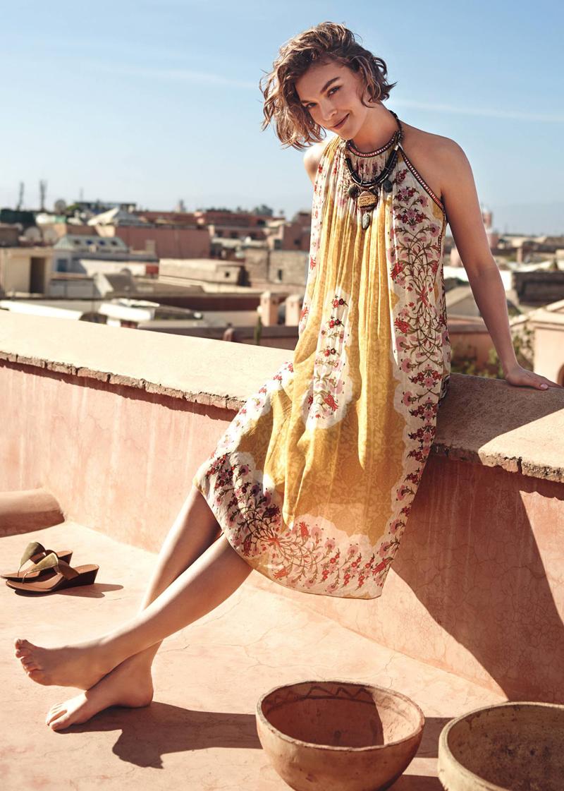 Anthropologie Soleil Swing Dress