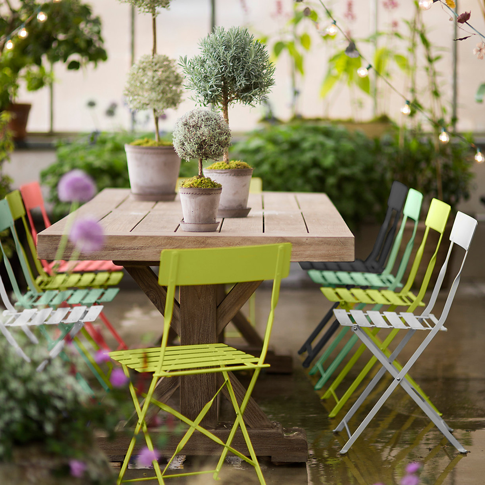 Painted Metal Bistro Chairs
