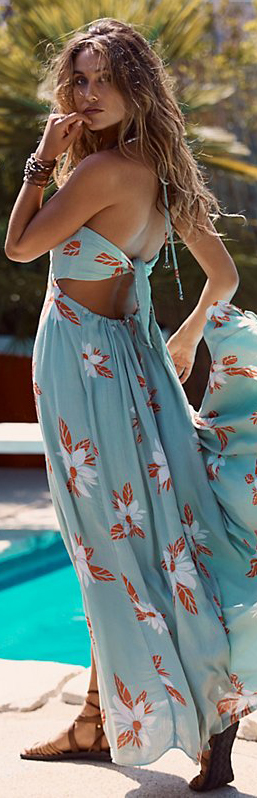 Free People | Tropical Escape Maxi