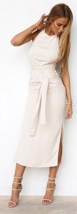 Sia Split Dress