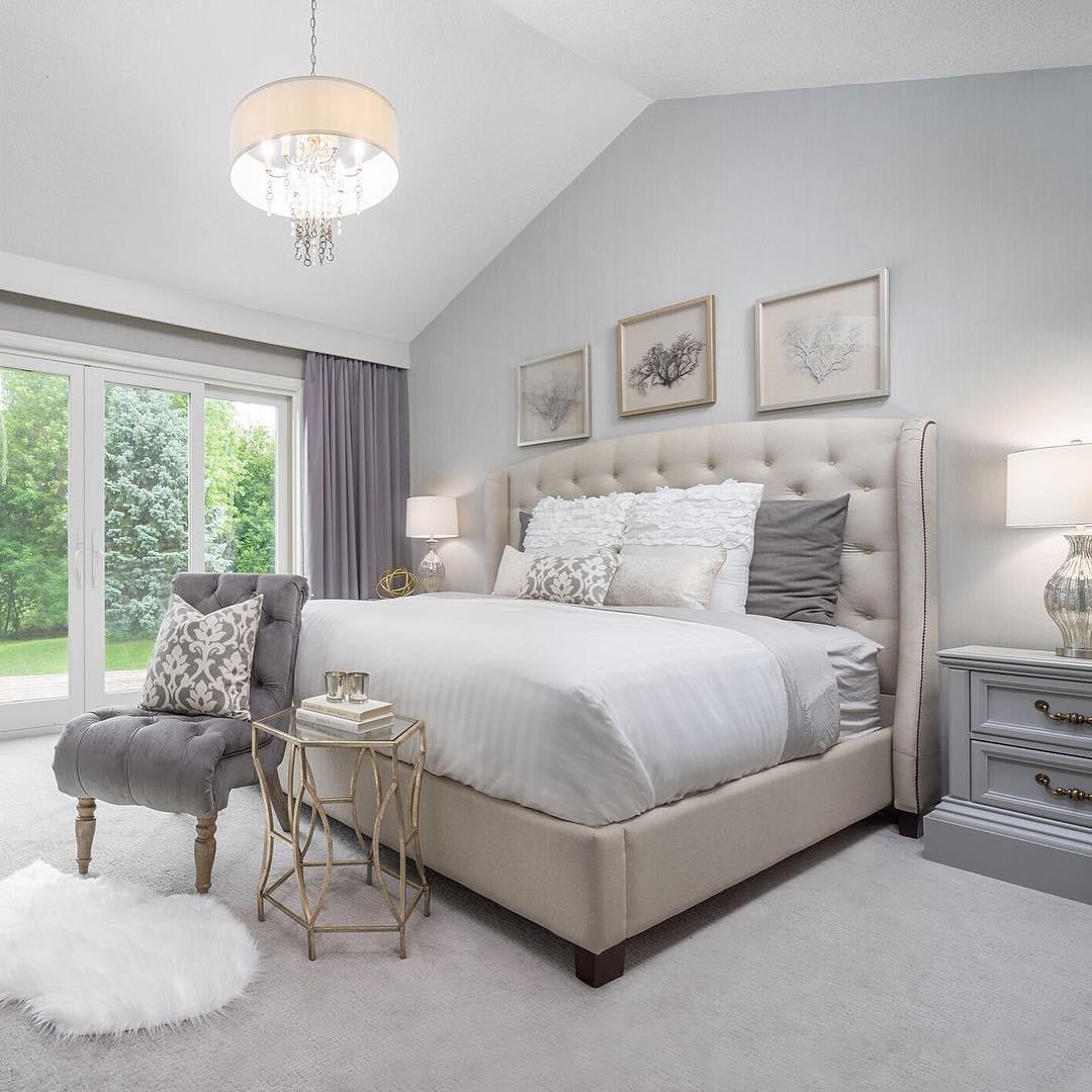 Adorned Homes | White Bedroom