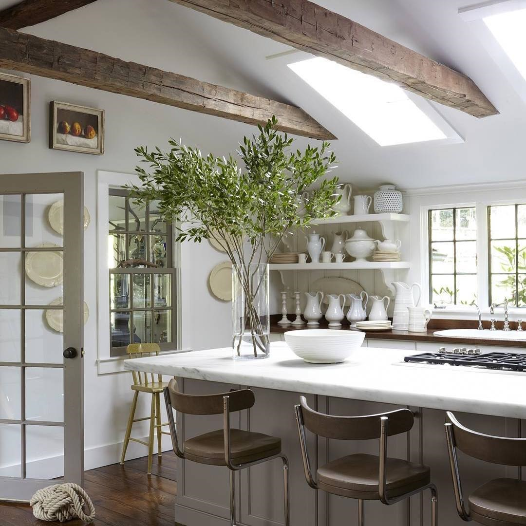 Country Kitchen in White