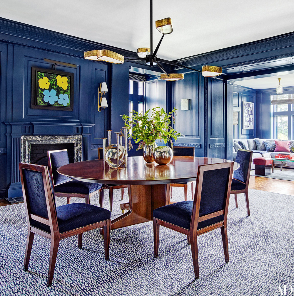 Decorating with Blue | Mark Cunningham Design