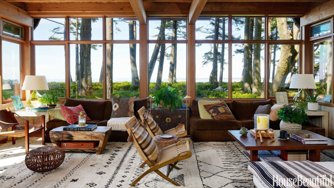 Warm Rustic Modern House