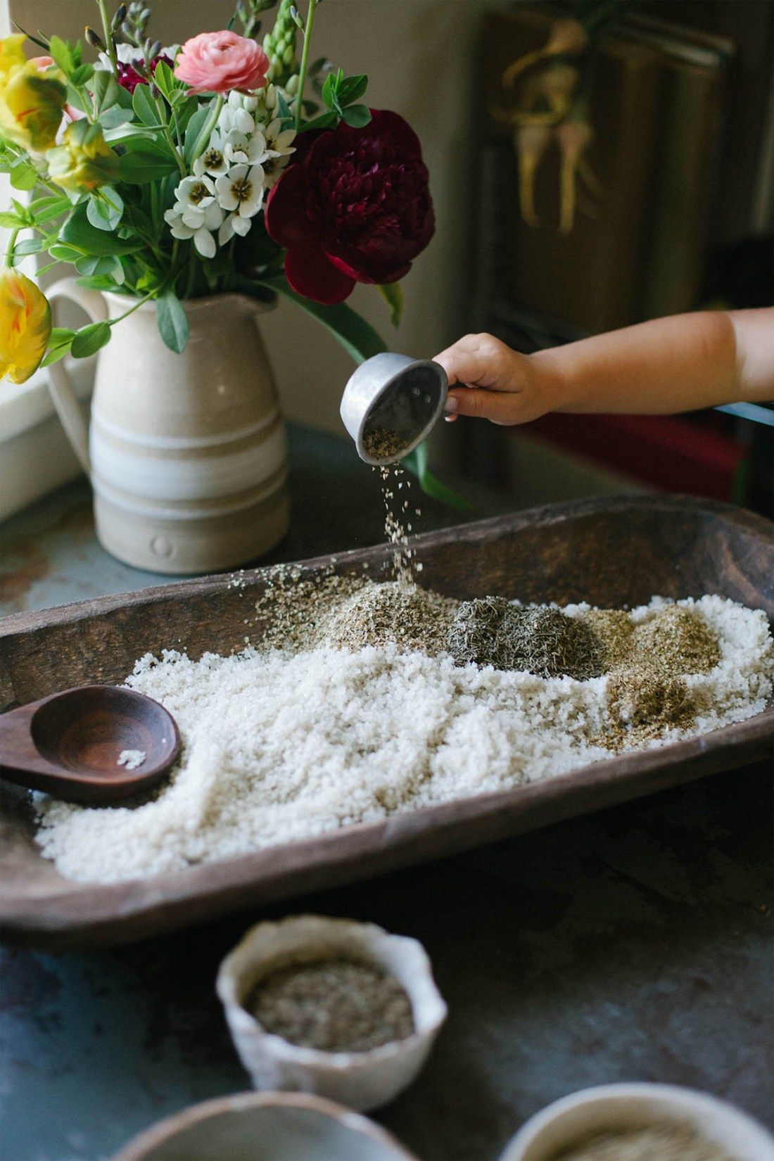 DIY Herbs de Provence Sea Salt