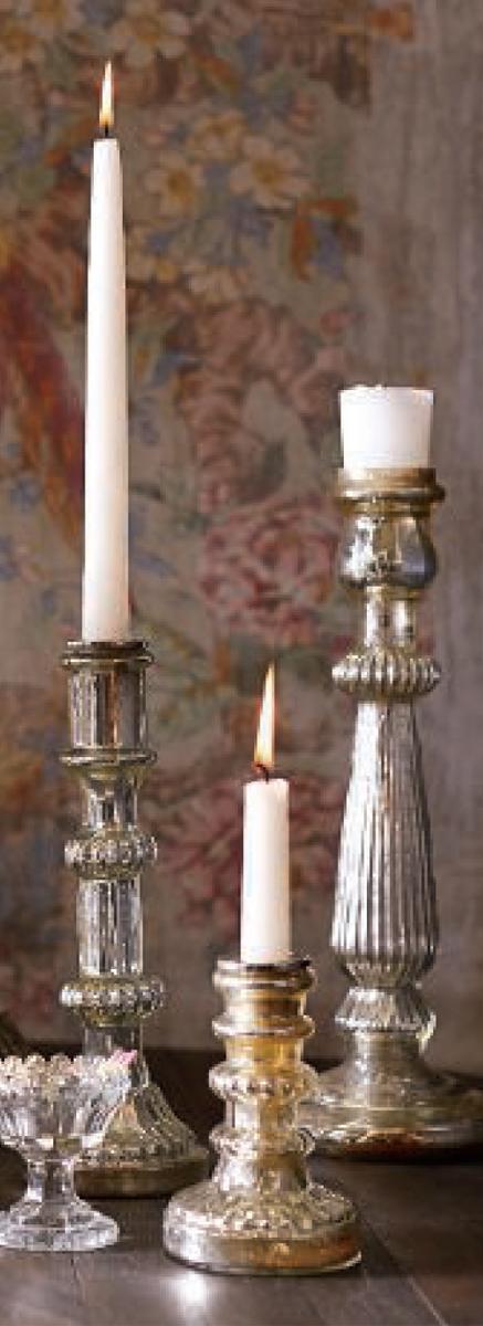 Fall Decorating | Artisanal Vintage | Antique Candleholders
