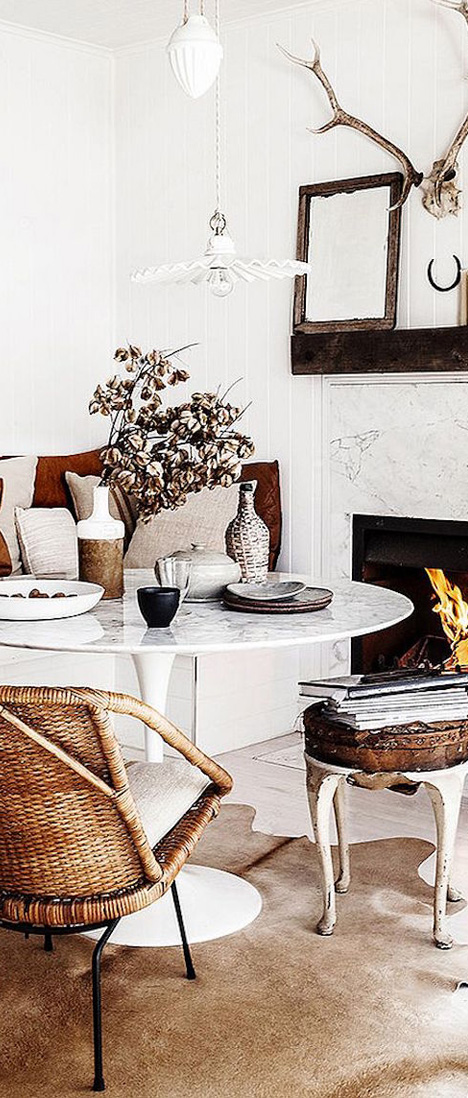 Bohemian Rustic Interior