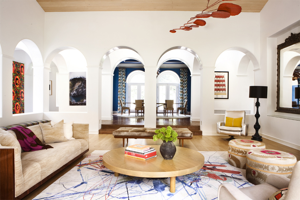Nickey Kehoe | Bohemian Living Room