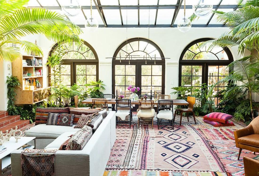 One King's Lane   Bohemian Living Room