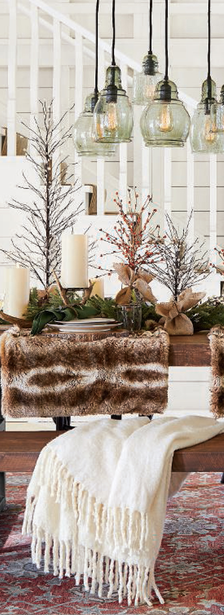 Pottery Barn Rustic Christmas