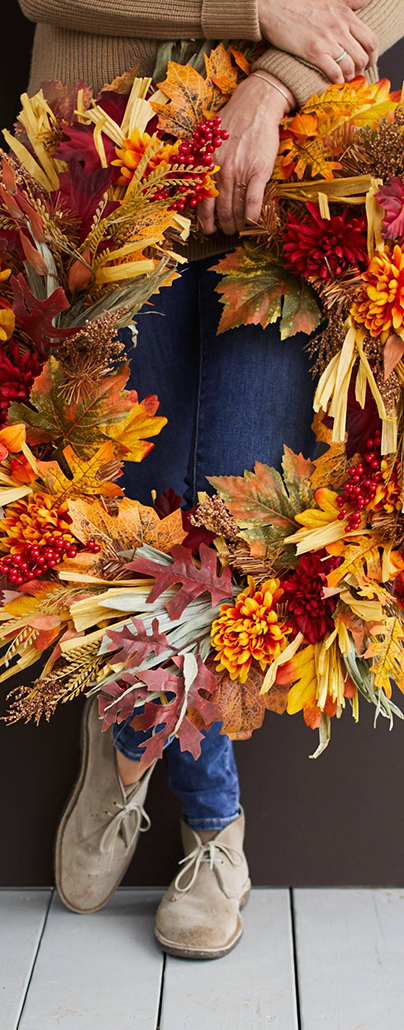 Country Fields Foliage | Autumn Decorating Ideas
