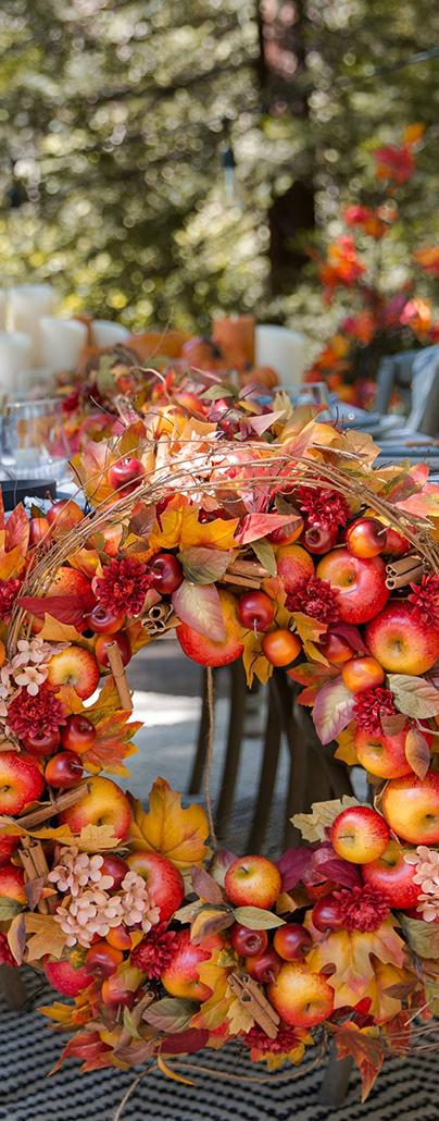 Apple Spice Fall Decor