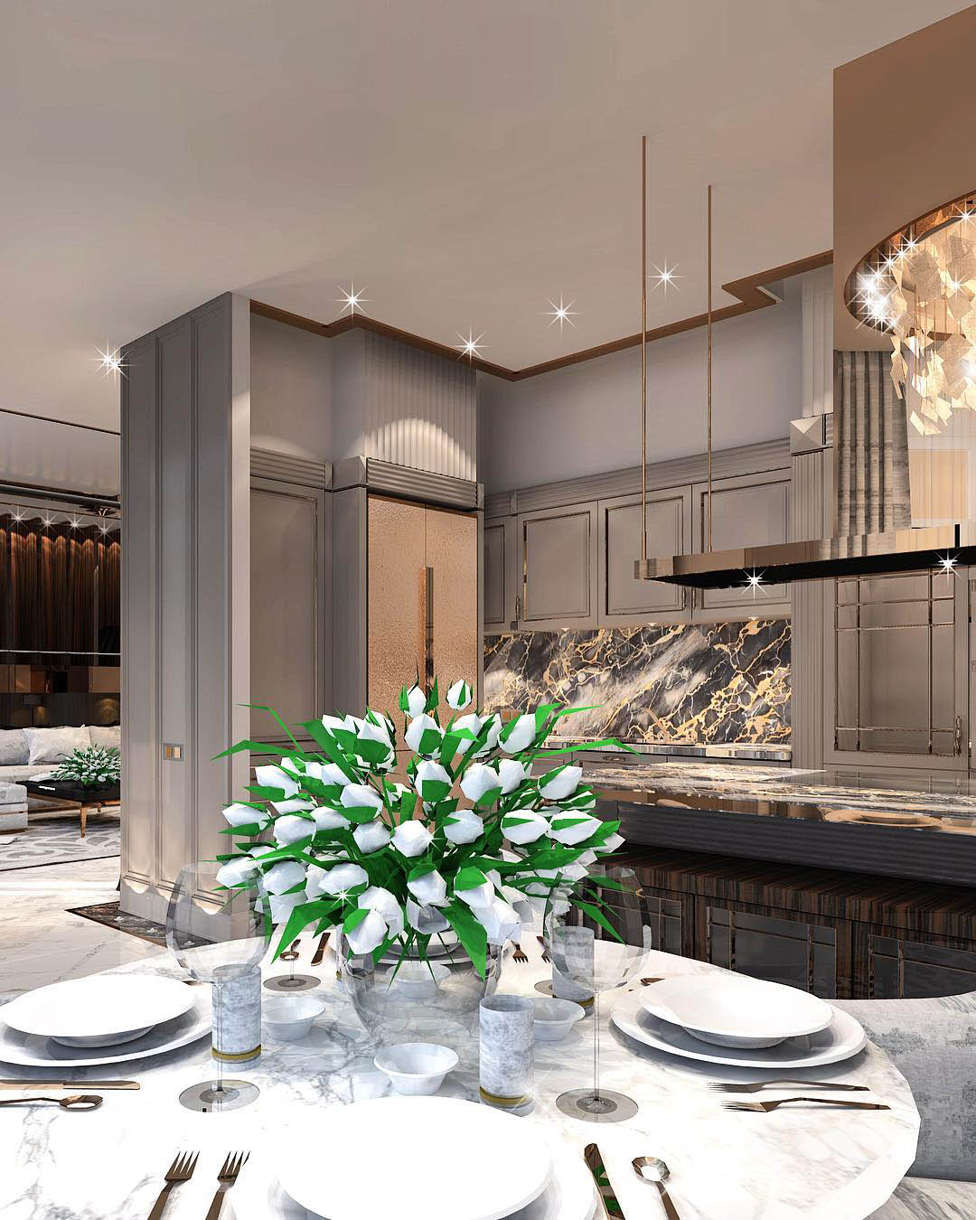 Constantin Frolov Interior Design   Luxury Kitchen Ideas