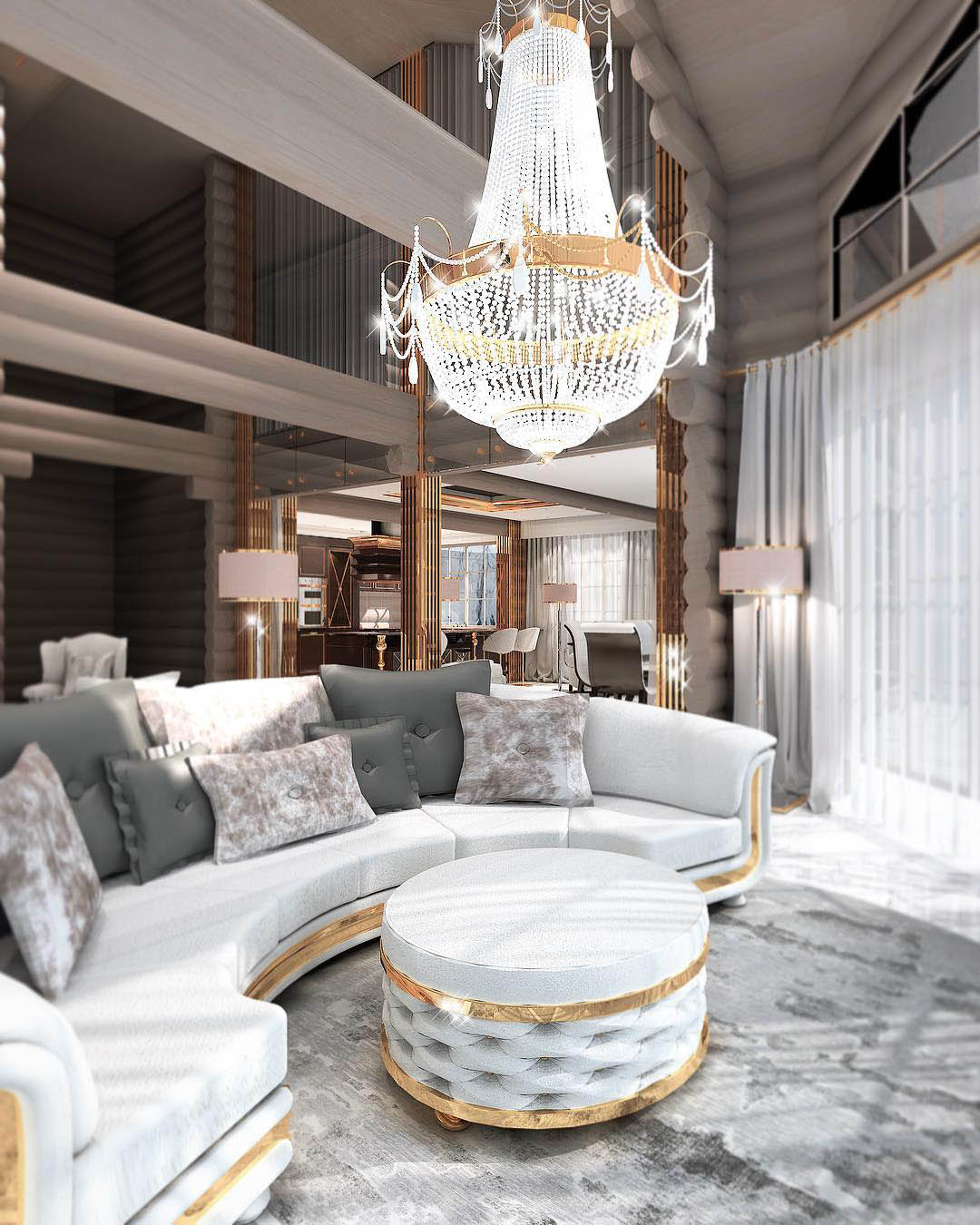 Constantin Frolov Interior Design | Luxury Living Room Ideas