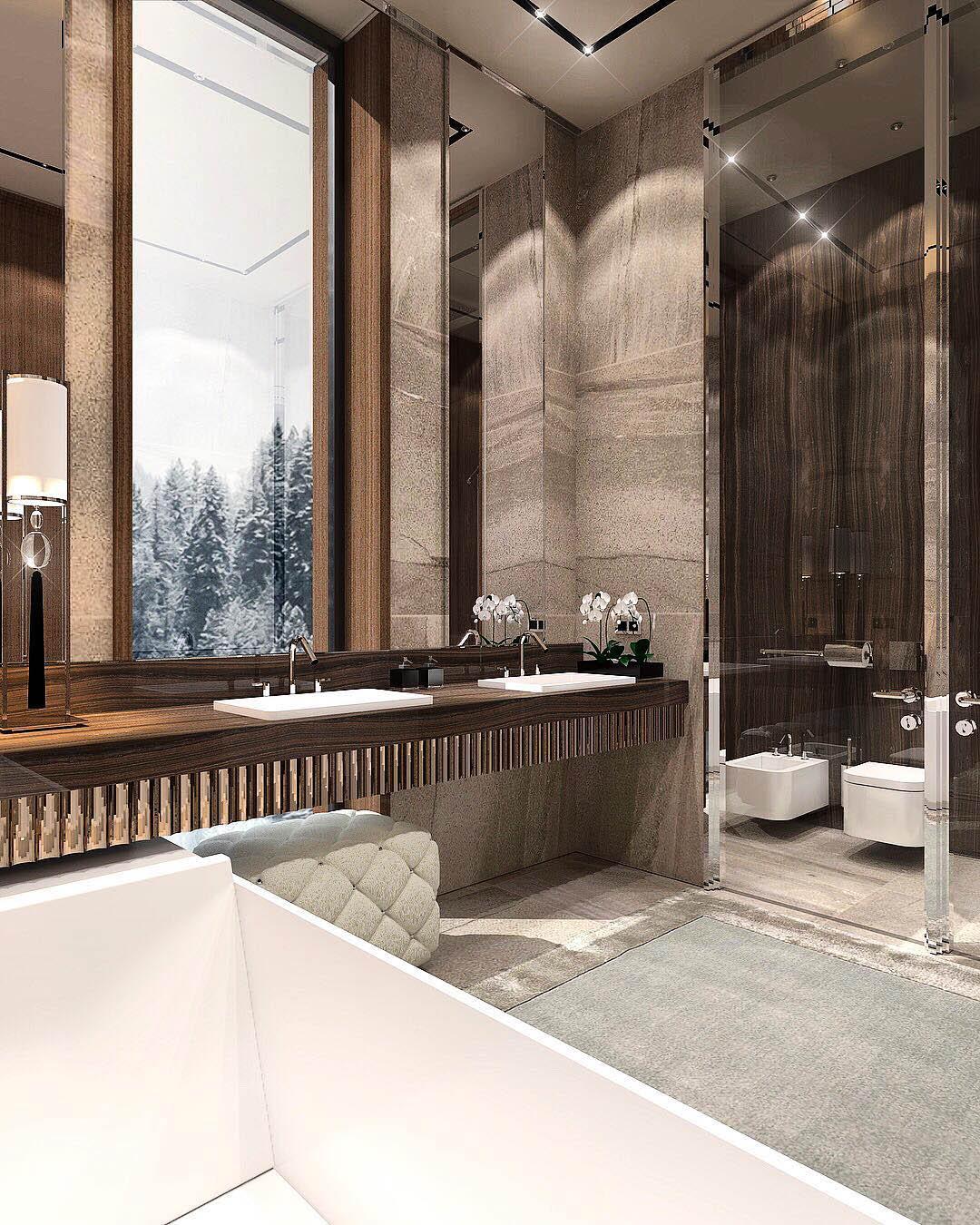 Constantin Frolov Interior Design   Luxurious Bathroom