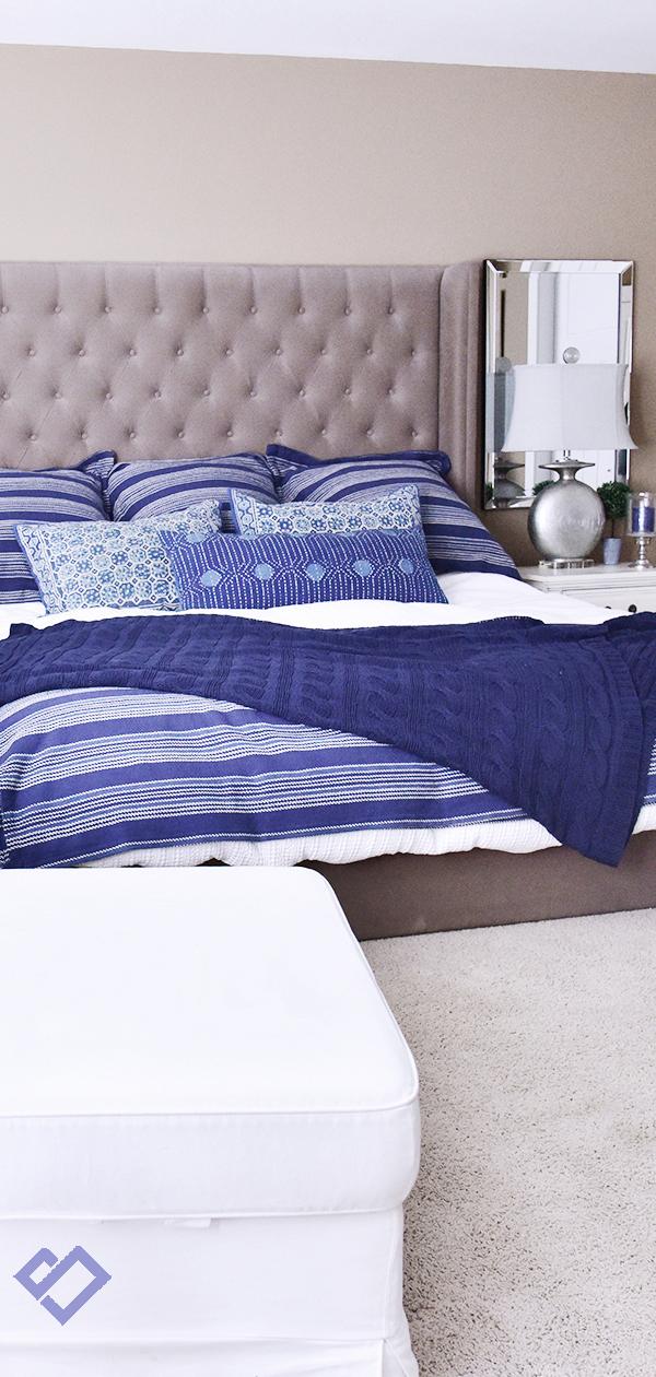 My Coastal Bedroom | Designed by Tracy Svendsen | Buyer Select Blog
