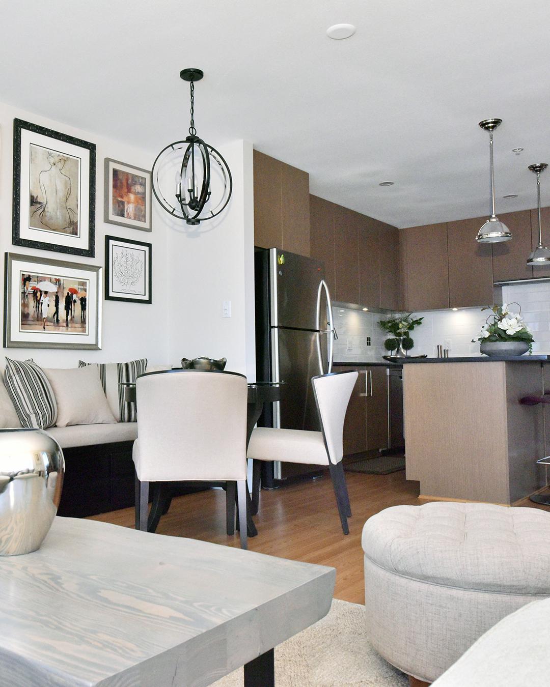 Interior Design by Tracy Svendsen | Small Condo Design
