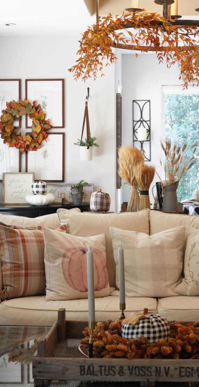 Fall Decorating Ideas | The Design Twins