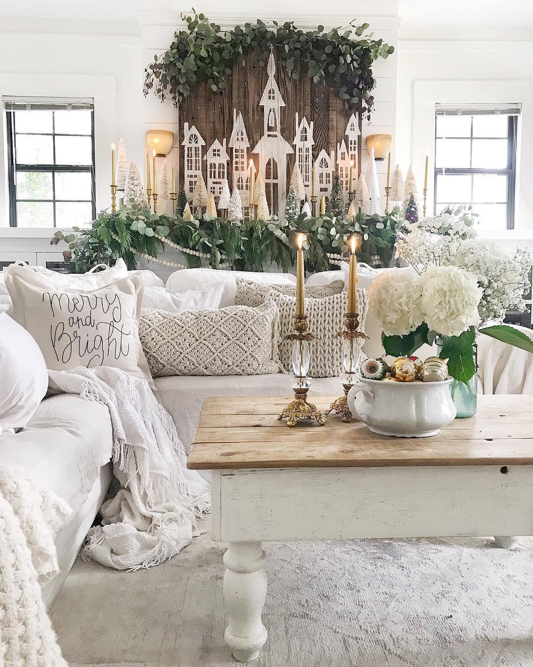 Cozy Christmas Living Room | Toni Marianna