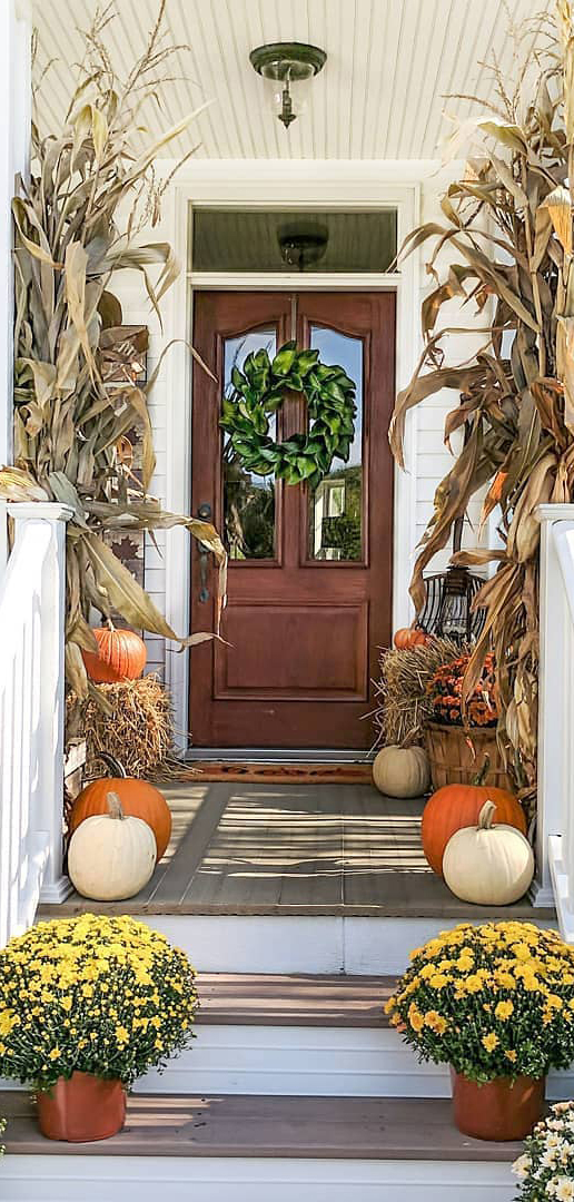 Fall Entranceway | Simple Decor with Amy