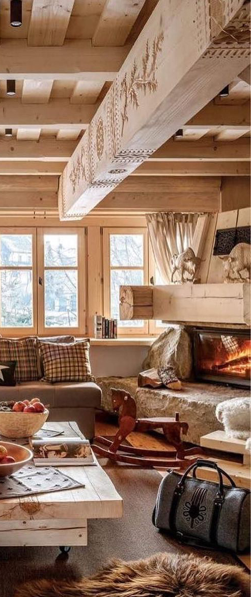 Cozy Fall Living Room