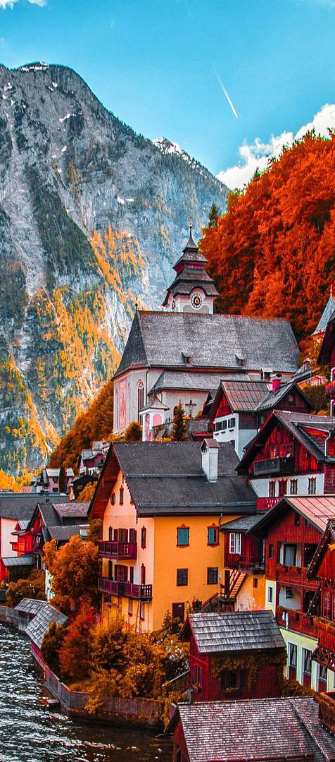Fall in Austria | Kardinal Melon on Instagram