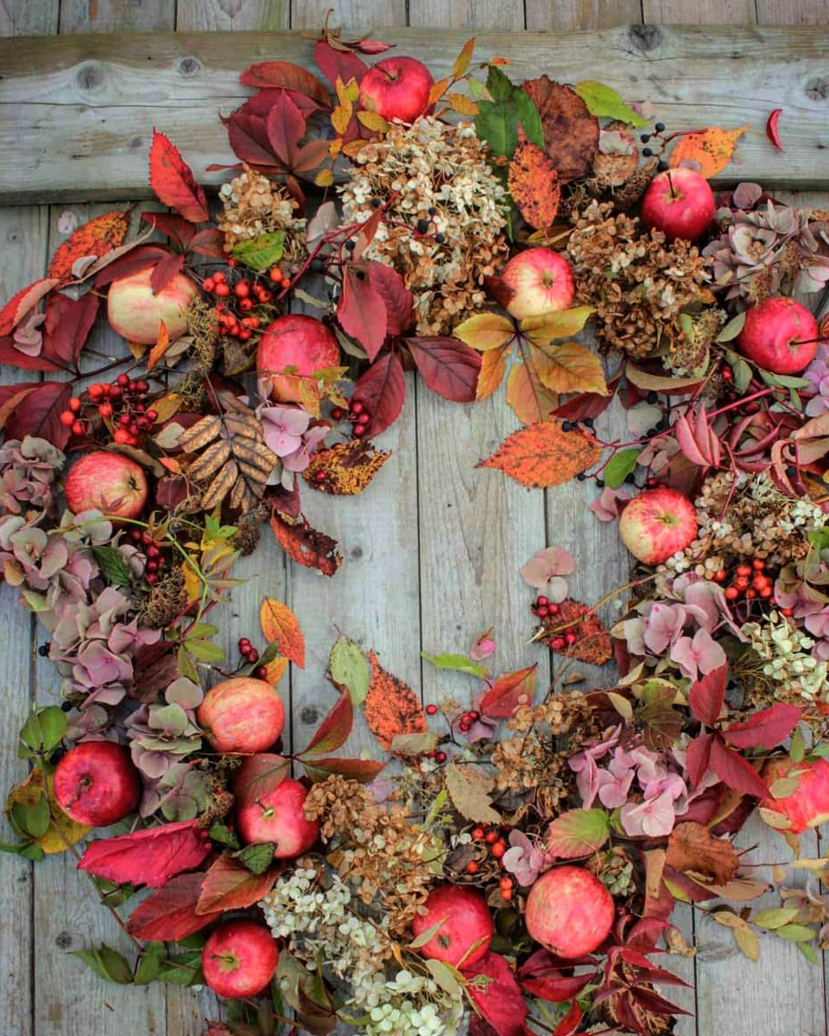 Beautiful Fall Wreath | Vibeke Design