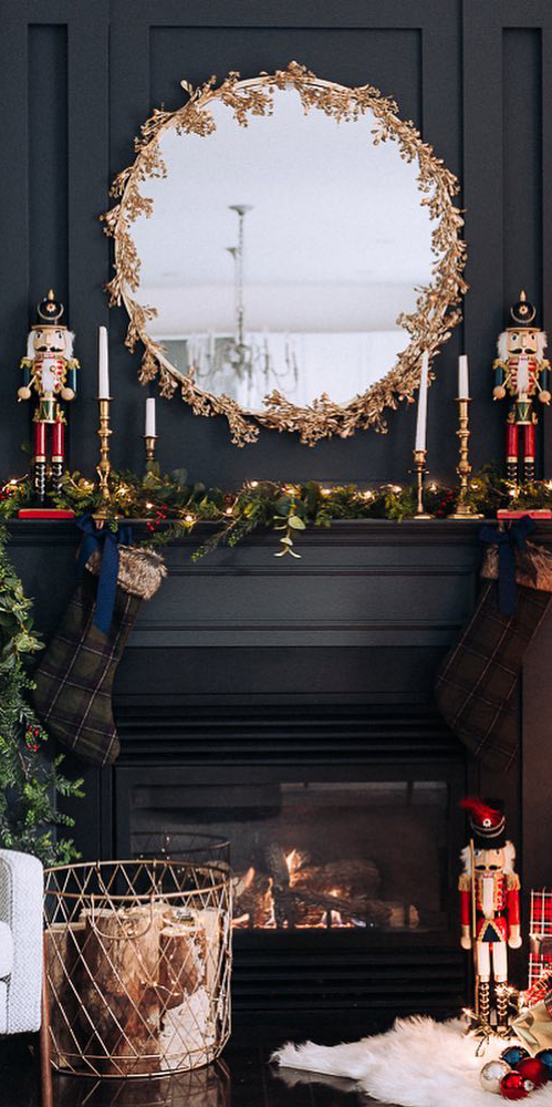 Stunning Red, Blue & Gold Christmas | Craftberry Bush Blog