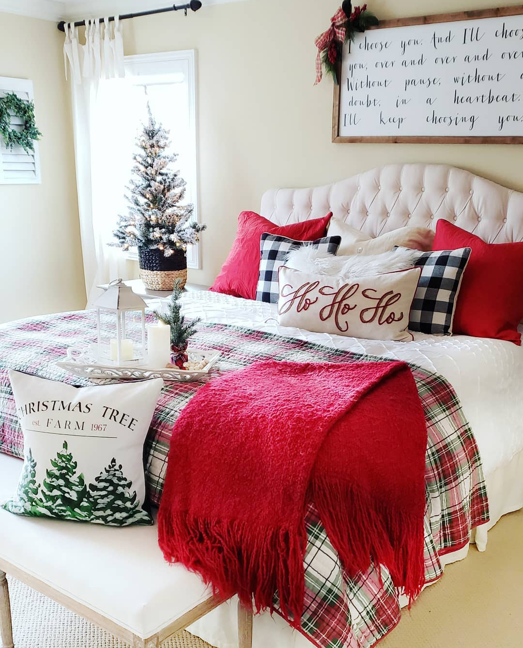 Christmas Bedroom | Blessed at Home