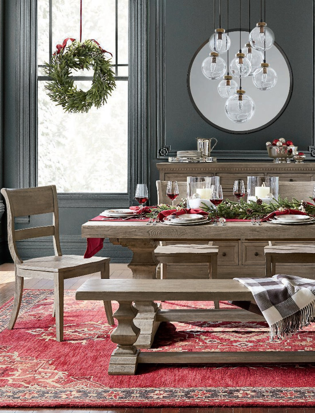 Christmas Dining Room Ideas | Banks Dining Room Collection