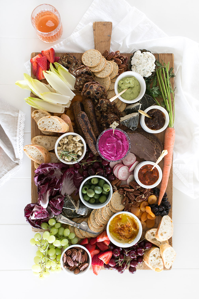 Vegan Charcuterie Board | Jillian Harris