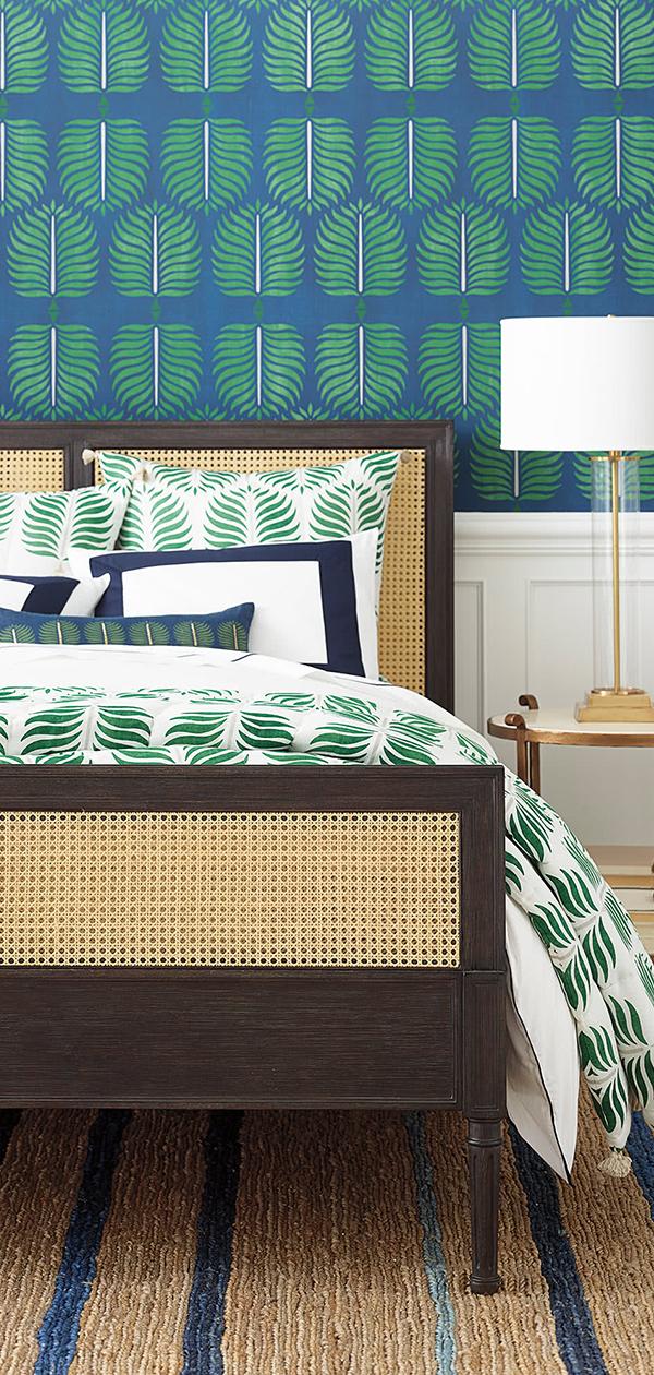 Granada Quilt in Moss | Bedroom Decorating Ideas