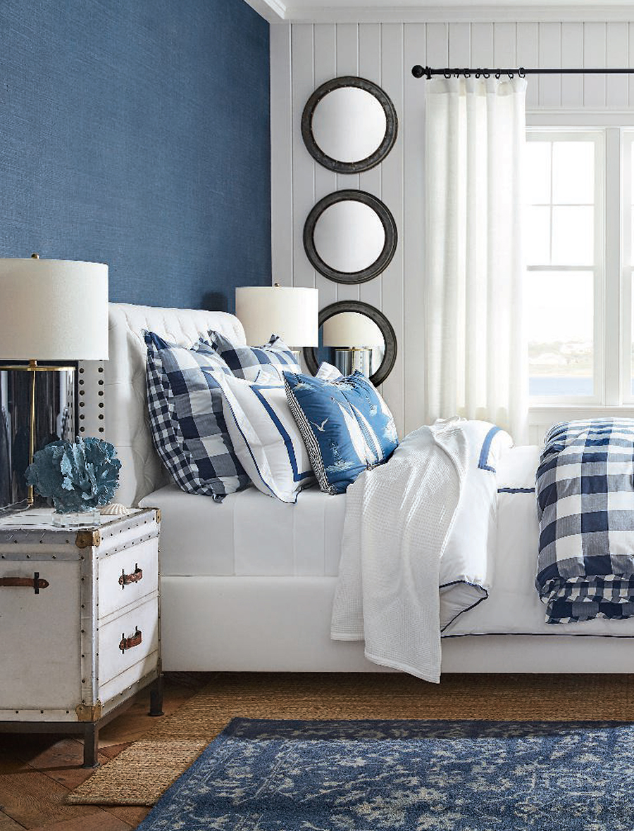 Decorating with Blue | Pottery Barn