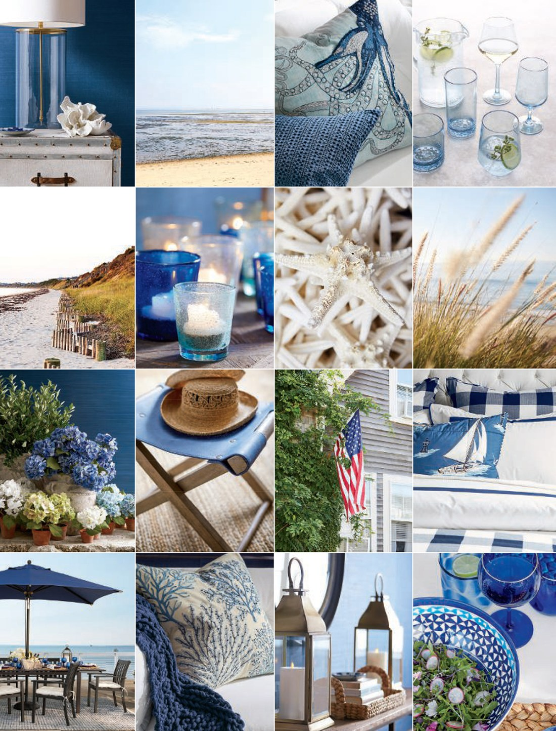 Coastal Decorating Ideas | Pottery Barn Summer 2019