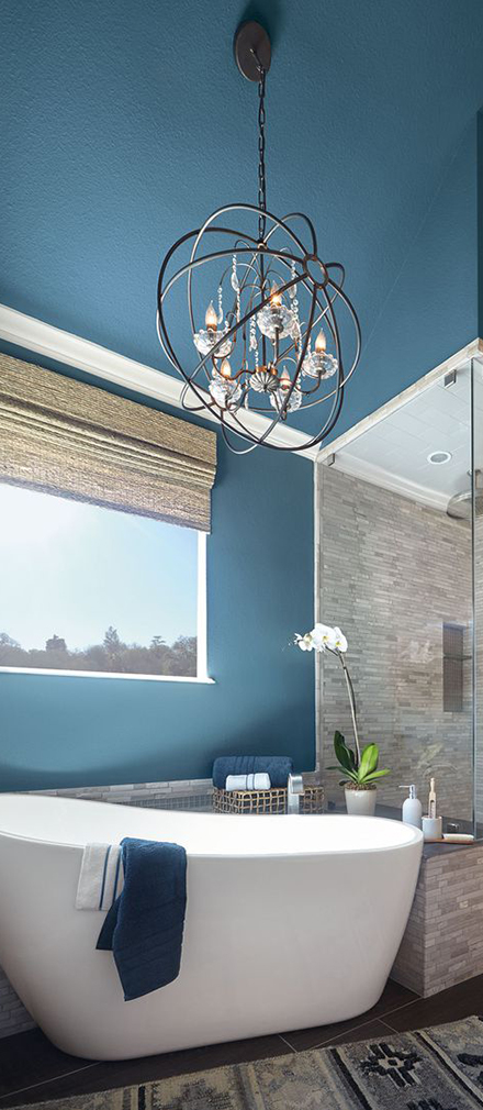 Behr Paint Color of the Year 2019   How to Decorate with Blue