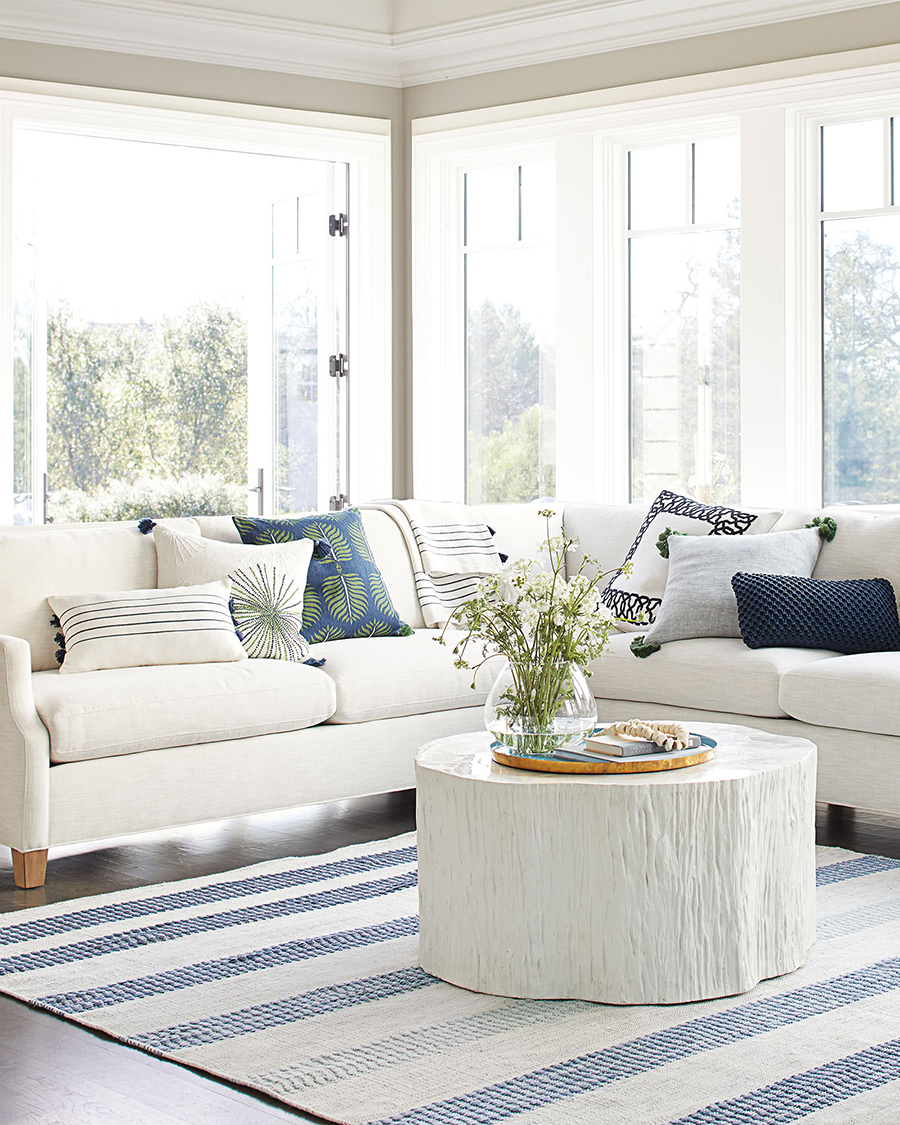 Modern Coastal Decorating Ideas | Truro Coffee Table