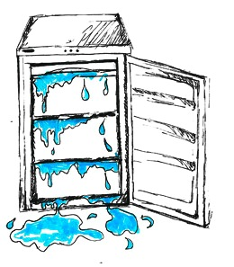 Image result for broken freezers