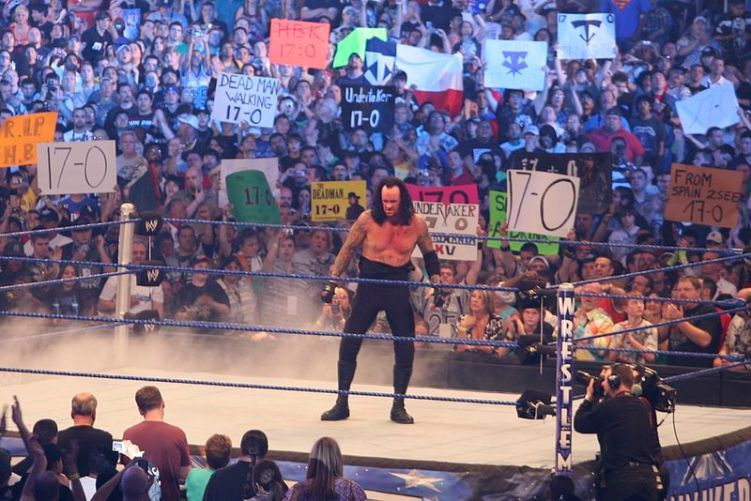 The Undertaker at WrestleMania 25